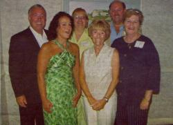 4  - 40th Reunion Committee -  Steve Grasso, Janice Petrella Walsh, Carole Bisti Valentino, Linda Melina Dioganalle, Gre