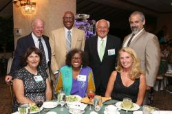 LBHS(247 Table 2) Sitting Jackie Woods-Kineavy, Beverly Gordon, Karen Leoncavallo - Standing - Carl Viola, Carl Jennings