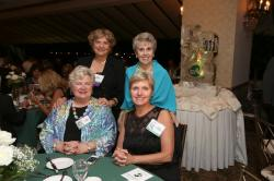 LBHS(258) Table 3 Sitting - Gayle Freiday-Crockett, Susan Rothrock-Costello, Standing - Mrs Christopher (Teacher), Mrs.