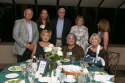 LBHS(261) Table 17 -Sitting - Carin Lapidus-Greenspan, Helaine Evans, Gayle Blaisdell-Williams. Standing - Mr. Greenspan