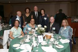 LBHS(266) Table 4 - Sitting - Veleda Greenwood, Susan Smallwood- Pirozzi, Simon Rubin, Ina Rubin-Brustein, Standing - Mr