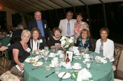 LBHS(268) Table 11 - Sitting - Joan Ricciardi-Hussey, Billie Puglia-Popes, Joan Foring, Helen Fornin, Lorraine Sorrentin