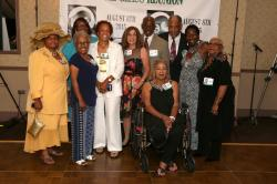 LBHS(250) Connie Puryear, Brenda Shuler, Anita Williams, Helen Jones-Barnwell, Arlene Gold- , Nate Logan, Barbara Cooper
