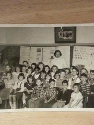Ms. Shirley's Broadway School Kindergarten 1954(?)
