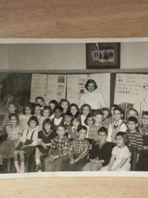 Ms. Shirley's Broadway School Kindergarten 1952(?)